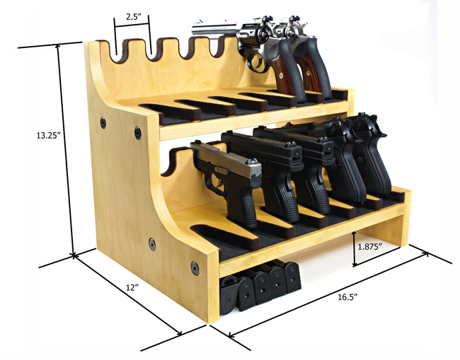 Rotating Gun Rack Plans http://www.pic2fly.com/Rotating+Gun+Rack+for+Safe.html