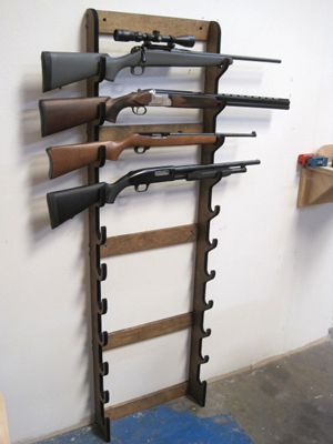 Horizontal Gun Case Plans
