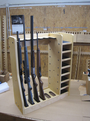Homemade Gun Rack Plans Look Here