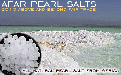 Pearl Salts from Lake Asal