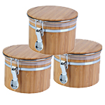 empty bamboo jar three pack
