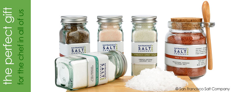 Premium Gourmet Sea Salts From Around The World
