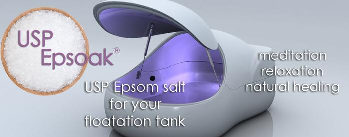 Epsom Salt for Floatation Tanks