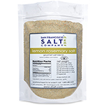 Lemon Rosemary Salt 5lb