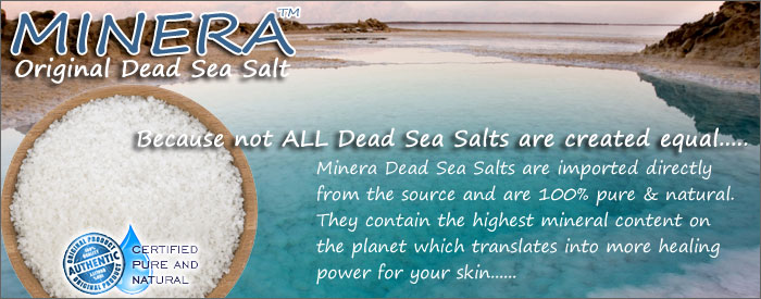 Minera Dead Sea Salts