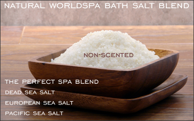 Natural Bath & Spa Salt Blend