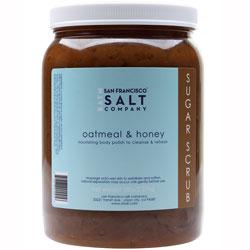 Brown Sugar Scrub - Oatmeal & Honey - 5lb Professional Size