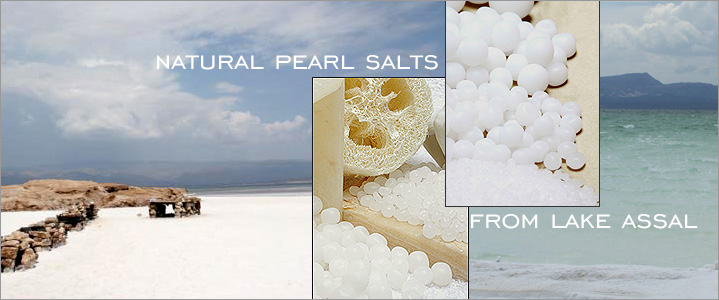 All Natural salt Pearls from Lake Asal, Africa