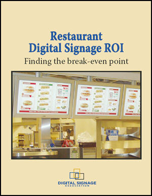 Restaurant Digital Signage ROI