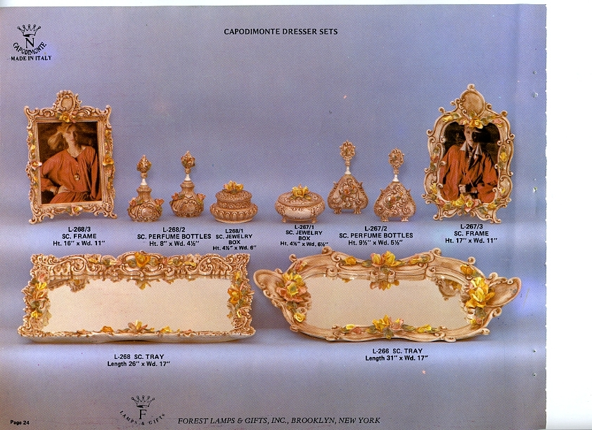 Capodimonte Made In Italy Flg 1980 Catalog Pg 21 To 30