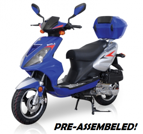 Fastest 150cc Scooter ANYWHERE!