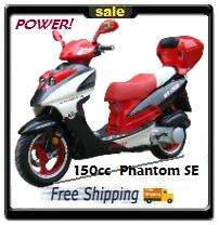 150 Phantom Scooter! - Free Shipping
