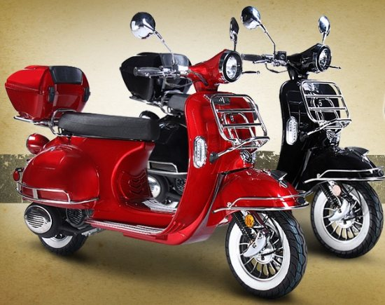 Best 150cc Scooter on the Market! - 2012