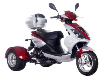 49cc, 50cc, Sale 3 Wheel Trike, ice bear trike Scooter Sale