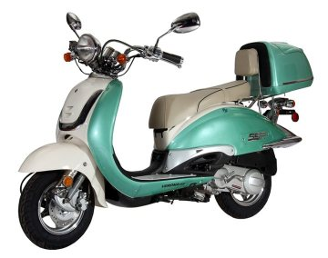 Best 150cc Two Tone Scooter on the Market! - 2012