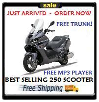 TOP OF THE LINE - MOST POPULAR 250CC ROADSTER - MC54-250B