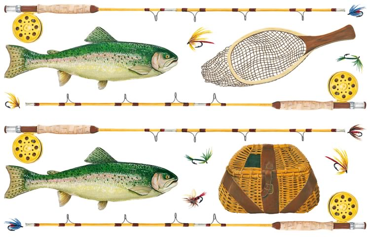 Fly Fishing Border Clip Art 750 x 480 · 69 kB · jpeg