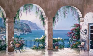 Wallpaper murals 25 off great selection for Bay view wall mural