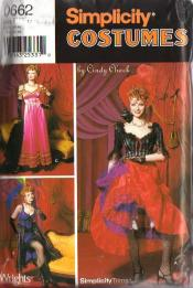 Burlesque Costume. Sewing Patterns For Can Can Burlesque.