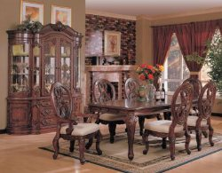 Formal Dining Room Tables - Discount Dining Room Tables - Traditional Dining Room Furniture - LaPorta Furniture - Discount Online Furniture Store