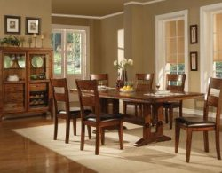 Solid Wood Dining Room Tables - Solid Wood Dining Set - Formal Dining Room Sets - LaPorta Furniture - Discount Online Furniture Store