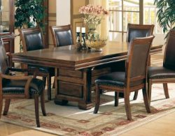 Westminster Dining Room Set - Affordable Dining Room Sets - Dining Rooms - Wood and Leather Dining Sets - LaPorta Furniture - Discount Online Furniture Store