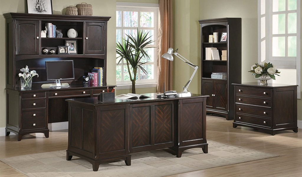 Garson executive desk - Home office desk furniture sets ...