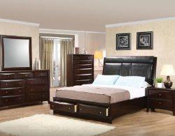 Solid Hardwood Queen Platform Bedroom Set - Discount Online Furniture