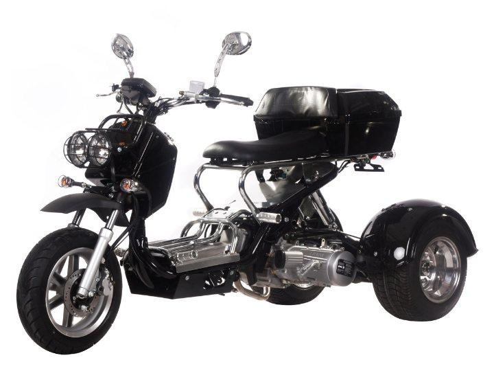 Cms 150cc Trike scooter manual